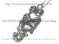 【ネクロマンス NECROMANCE】 ハグスケルトンネックレス Hug Skeleton Necklace 骸骨