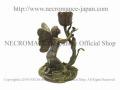 【ネクロマンス NECROMANCE】 チューリップバタフライフェアリーキャンドルホルダー Tulip Butterfly Fairy Candle Holder 妖精 蝶々