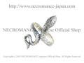 【ネクロマンス NECROMANCE】 シルバースモールスネークリング Silver Small Snake Ring 蛇 ヘビ