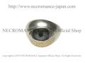 【ネクロマンス NECROMANCE】 シルバー義眼リング Silver Glass Eye Ring <ブルー/Blue/青> 目玉