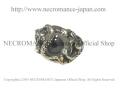 【ネクロマンス NECROMANCE】 シルバーロールドラゴン義眼リング Silver Roll Dragon Glass Eye Ring <ヘーゼル/Hazel> 龍 目玉