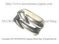 【ネクロマンス NECROMANCE】 シルバーダブルクロウリング Silver Double Claw Ring 獣 爪