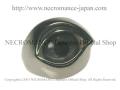 【ネクロマンス NECROMANCE】【数量限定】シルバーNEW義眼リング Silver New Eye Ring <ブルーグレー/Blue Gray> 目玉