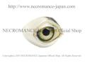 【ネクロマンス NECROMANCE】【数量限定】 シルバーNEW義眼リング Silver New Eye Ring <イエローアイリス/Yellow Iris/黄虹彩> 目玉