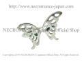 【ネクロマンス NECROMANCE】 シルバーフライングバタフライリング Silver Flying Butterfly Ring 蝶々 羽 指輪