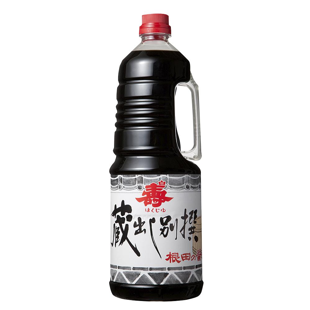 蔵出し別撰醤油1.8L