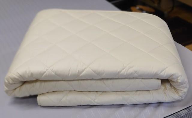 【サイズオーダー可能】 二層式羊毛ベッドパッド(厚手)
