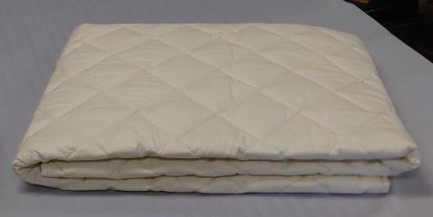 【サイズオーダー可能】 一層式羊毛ベッドパッド