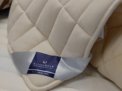【billerbeck】 ビラベック 羊毛ベッドパッド