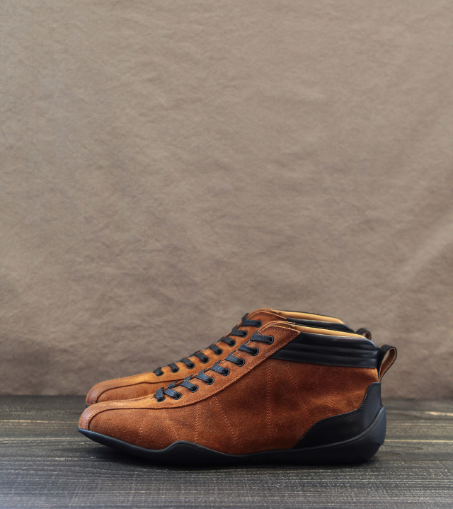 GRAND PRIX HI-TOP|RUST ORANGE
