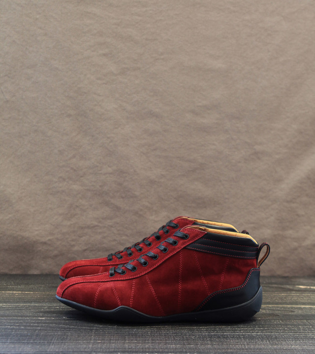 GRAND PRIX HI-TOP|IGNITION RED