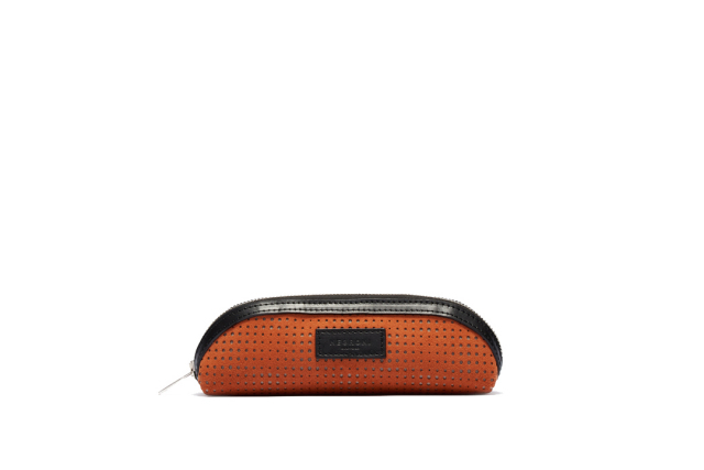 BRIDGE PEN CASE|ORANGE BROWN