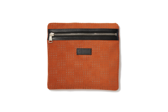 SQUARE BAG|ORANGE BROWN
