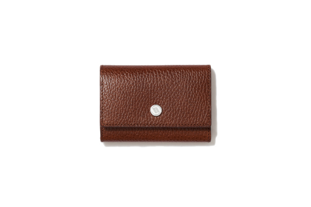 WIDE KEY CASE|CIGAR BROWN