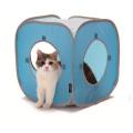 猫のファニチャー キャットプレイキューブ ブルー
