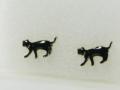 黒猫ウォークピアス