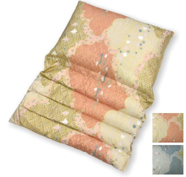 限定品 折り重ね枕 和柄 至福の眠り 専用カバー付