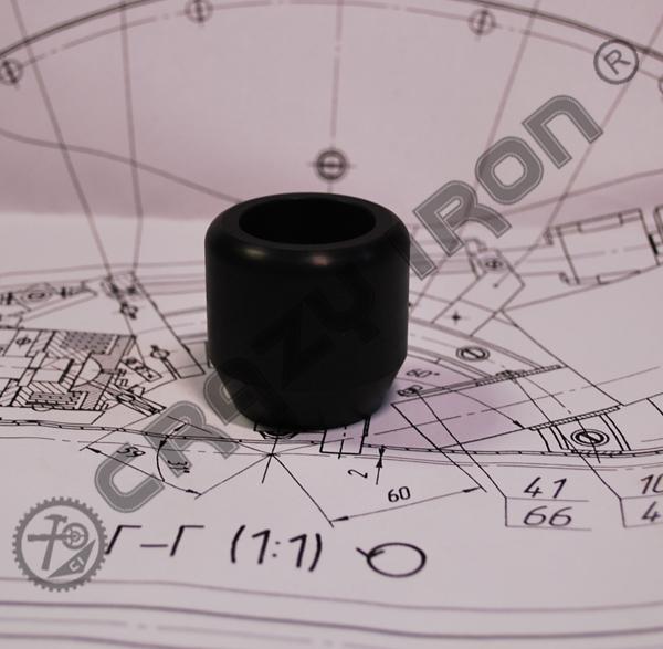 【予約販売】 CI301 CrazyIron  エンジンガード STREET CAGE用 40/12スライダー付き 2個セット