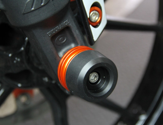 KTM DUKE フロントアクスルスライダー