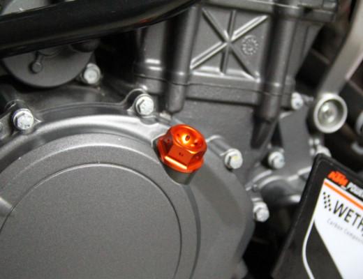 KTM DUKE オイルフィラーキャップ