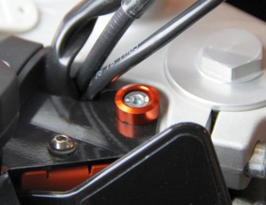 KTM DUKE スピードメーターカラー