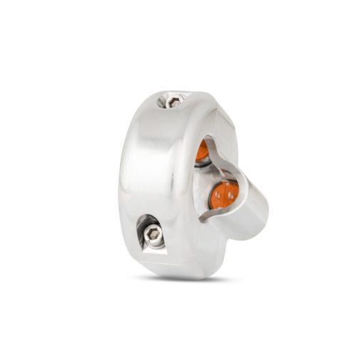 rebelmoto LEDスイッチ 4 ボタン ポリッシュ