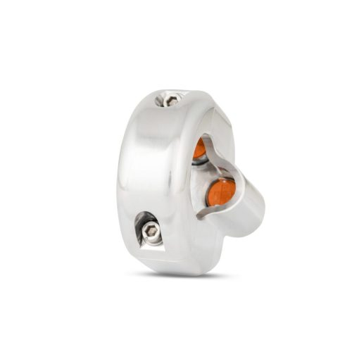 rebelmoto LEDスイッチ 2 ボタン ポリッシュ