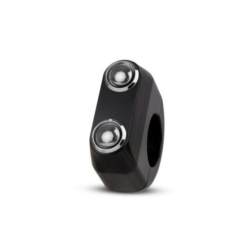 rebelmoto LEDスイッチ 2ボタン ブラック