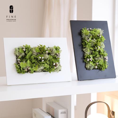 インテリアグリーン/プリザーブドフラワー/グリーンハート