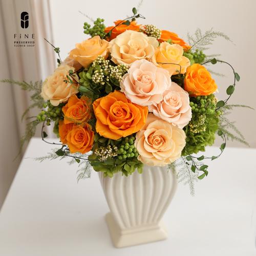マーレローザ プリザーブドフラワー 開院祝い 開業祝い 結婚祝い 店舗ディスプレイ【有料バッグ:LL対応】