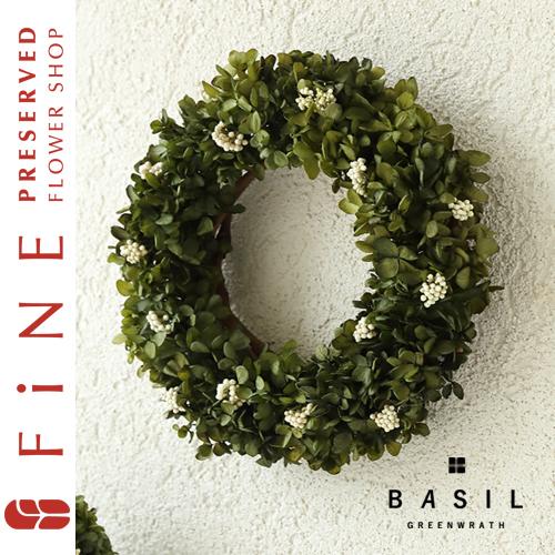 バジルグリーンリース/開業祝い/新築祝い/観葉植物
