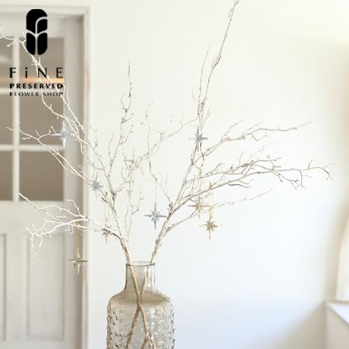 ホワイトブランチ/クリスマスツリー/christmas