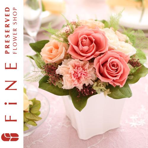 リクレフチュール|プリザーブドフラワー/結婚祝い/内祝い/枯れない花/フラワーギフト【有料バッグ:L対応】