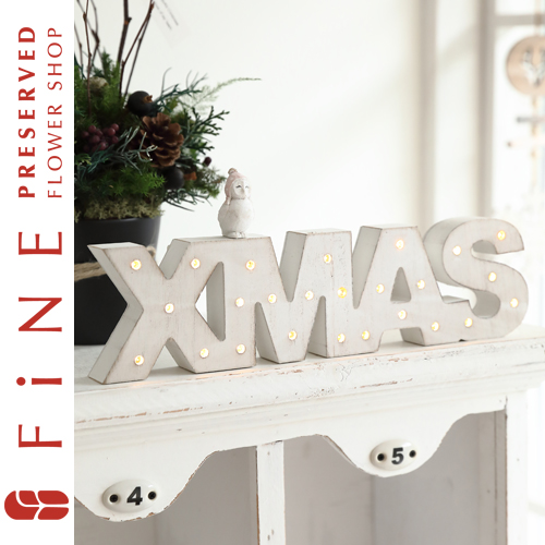 クリスマス/christmas/インテリア/ウッド/LED/店舗装飾