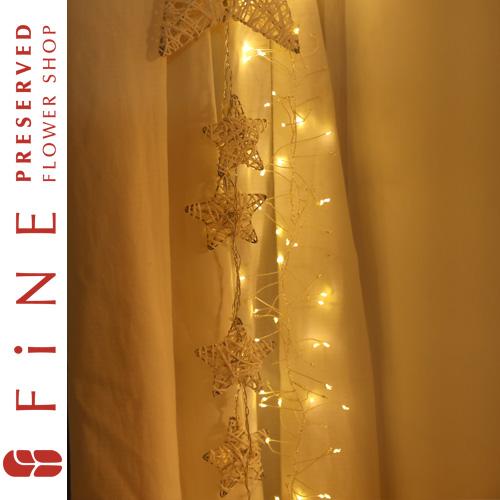 スパイラルLEDガーランド【15時までのご注文で即日発送】クリスマス雑貨/LED/インテリア/北欧/店舗装飾