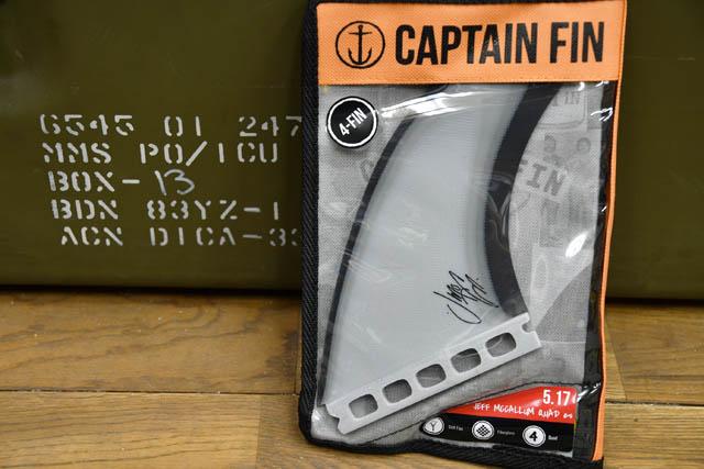 Captain Fin * Artist Series * Jeff McCallum Quad * キャプテン フィン マッカラム クワッド  Future