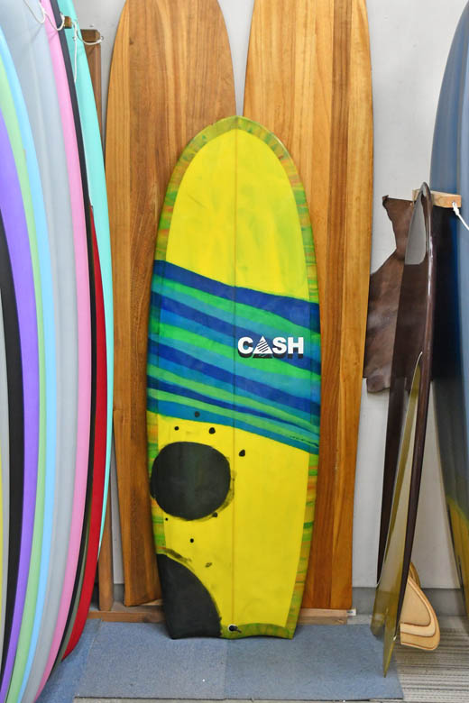 "Price Down***  Used * Cash * 5'4"" * R2D2 * キャッシュ バットテール"