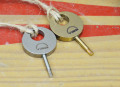 titanium * Ti22 * Fin key * Made in Japan * チタン製フィン・キー