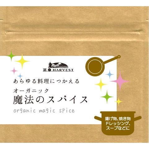 オーガニック魔法のスパイス25g【ゆうパケット】