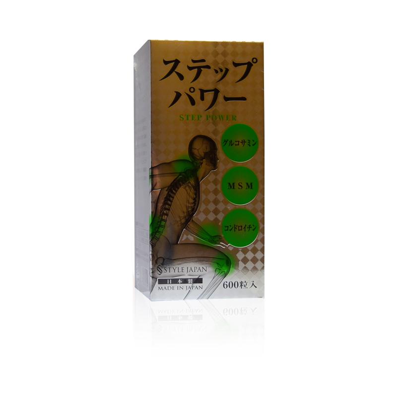 第一薬品 STYLEJAPAN ステップパワー STEP POWER 万歩力 600粒【日本全国 送料無料】