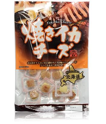 焼きイカチーズ【日本全国 送料無料】※パッケージが変更しております。 ご了承ください。