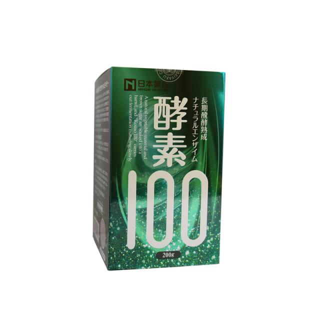 薬王製薬 酵素100 200g【日本全国 送料無料】