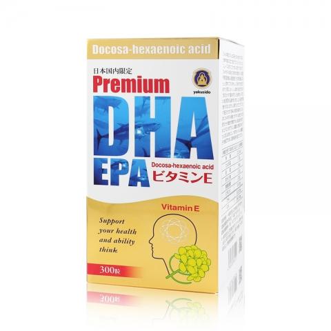 薬師堂製薬 Premium DHA EPA 300粒