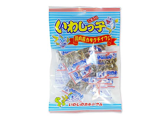 【お菓子のバラ売り・その他(おつまみ・半生菓子)】 泉屋 45g いわしっ子 (バラ売り)