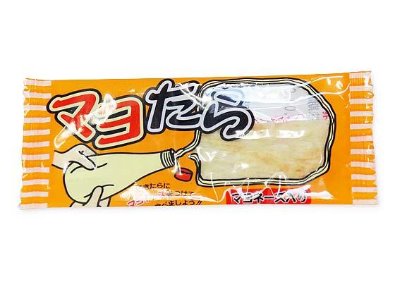 【駄菓子のまとめ買い・珍味・イカ系の駄菓子】 一榮 マヨたら (60個入)