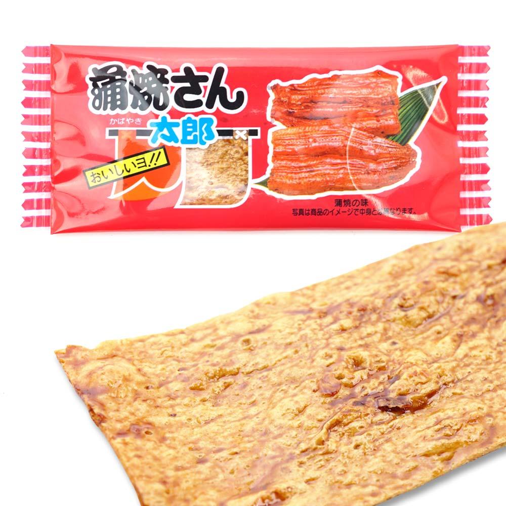 【小ロット/お試し】 菓道 蒲焼さん太郎 (30個入)  駄菓子 まとめ買い 珍味系の駄菓子