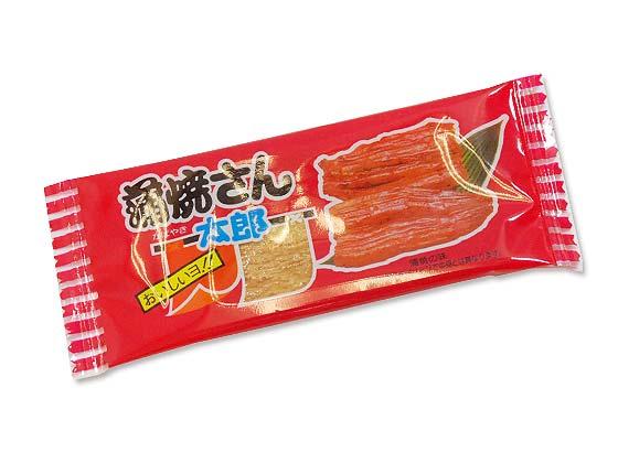 【駄菓子のまとめ買い・珍味・イカ系の駄菓子】 菓道 蒲焼さん太郎 (60個入り)