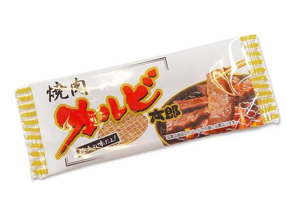 【駄菓子のバラ売り・珍味系の駄菓子】 菓道 カードタイプの珍味 カルビ焼き太郎 (バラ売り)