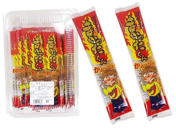 【駄菓子のまとめ買い・珍味・イカ系の駄菓子】 中水 ピリ辛まいったくん (30個入)