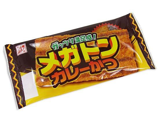 【駄菓子のまとめ買い・珍味・イカ系の駄菓子】メガトン カレーカツ(30個入)【全珍】